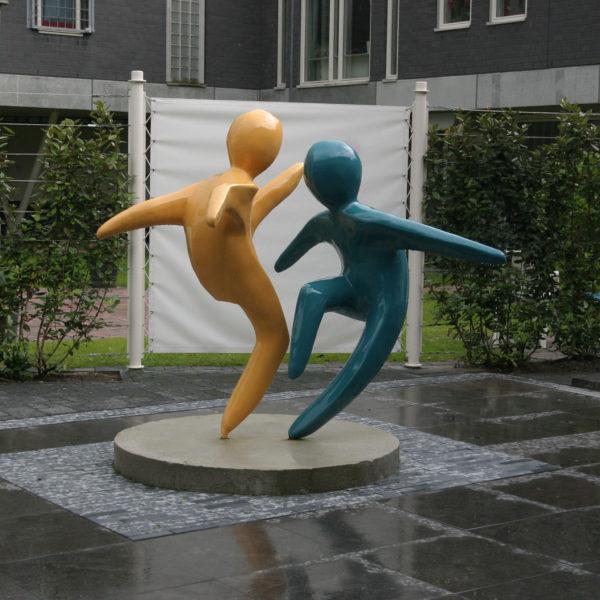 Capoeiera dansers